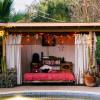 Natural Poolside Cabana