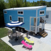 Tiny House Blue