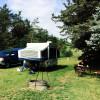 RV Camper Site on the Farm