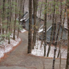 Blood Mountain Cabins by AT