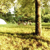 Tent Camp at Heritage Farms in CVNP