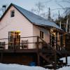 Private cabin on the White River