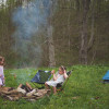 Camping in the Hocking Hills