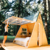 Star A-Frame Cabin,  Cedar Bloom