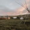 Big Quiet Tent Camping
