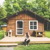 Private lake cabin-no public access