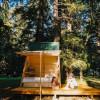 Sun Tiny A-Frame Cabin