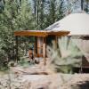 Yurt at Gaea Getaways