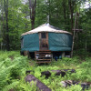 20' yurt at the creek