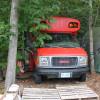 Red Bus @ D Acres Permaculture Farm