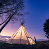 Teepee on family farm