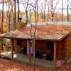 Almost Heaven 1-bedroom log cabin