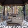 Rustic Elegant Wooded Tree Cabin