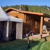 Log Camping Cabin 1 of 2