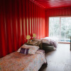 Red Room in Ocean View Dorm
