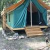 #11 Canvas Safari Ton Platform Tent