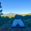 Secluded campsites with view+stars