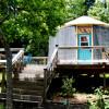 BlueBird Yurt @ Feathered Fox Farm