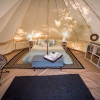 Glamping at Folsom Lake Site C