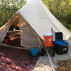 Glamping: True UP North!