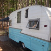 Camping/Glamping in a 1959 Shasta