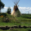 Tipi in BEND on Bison Ranch