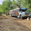 Magic Bus glamp at Sage View Ranch