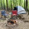 Wooded Get Away Tent Camping