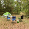 Primitive camping close to I-75