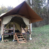 Canvas Tent in the Ozarks