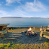 Beachfront Cabin - epic sunsets!
