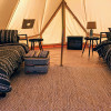 """""""The Crosby"""" Glamping Canvas Tent"""