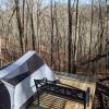 """""""David's Dugout"""" Tent Camp Platform"""