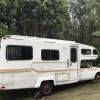 Private campsite or provided RV