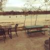 Camping along the San Jacinto River