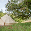 Wild Rye & Oat Grass Glamping Tents