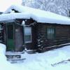 Rustic 1940's Alaskan cabin in town