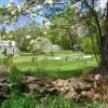 Old New England Hilltop Village