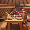 Yurts- private and secluded