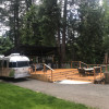 Deluxe Covered RV/Camping Deck