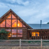 Mountain Rustic Log Home Vacation