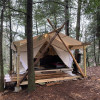 Top-of-the-Falls Glamping Tent