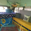 Little Blue Traveler Bus Glamping