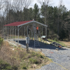 18x36x11ft RV carport with full 30A