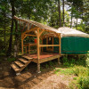 Hand Crafted Yurt in the forest