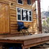 Tiny custom cabin in the woods