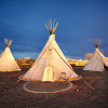 Teepee at El Cosmico in Marfa