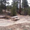High desert canyon camping