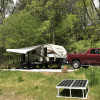 RV, Tent, Trailer Camping by River
