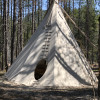 The Mooseshroom Tipi